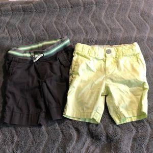 Set of 2- boys summer shorts